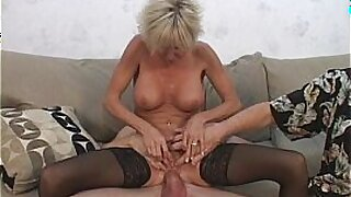 Horny milf banging her young stepbros hubby - duration 3:40