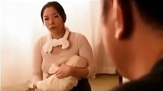 Teenie japan with fake breasts tugging - duration 32:30