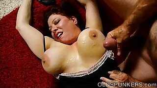 Chubby big tits milf leaves home with her younger lover for some money - duration 22:18