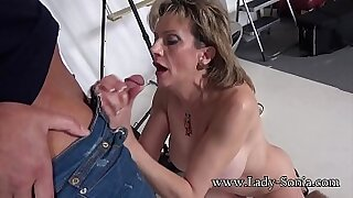 Mature milf fucked and facialized - duration 8:09