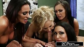 Office fuck orgy cum - duration 8:05