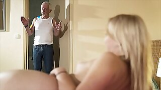 Pussy in thongs swallows POV cumshot - duration 11:57