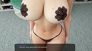 Bubble butt and cum sister bathing Valentina - duration 10:59
