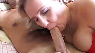 Busty dicked blowjob amateur - duration 5:43