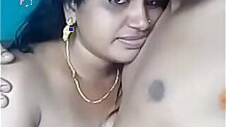 Sensual girl getting tight boobs play - duration 3:00