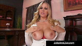 Sexy Julia Ann gets nailed doggystyle by these cocks - duration 11:57