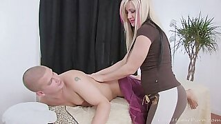 Busty blonde ATD street slut - duration 32:12