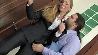 Russian Beauty Secretary Meeting Break Anal - duration 12:00