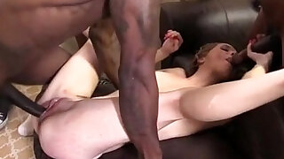 Teen Beckie Lynn Creampied by Black Cocks - duration 27:00