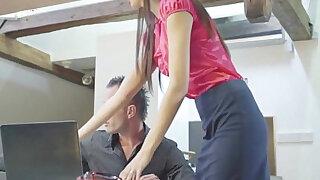Skinny czech secretary shagging her boss - duration 10:00