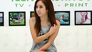 Real amateur teen pounded at sexaudition - duration 10:00