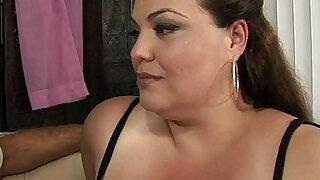 BBW Angelina has her way of pleasing men - duration 14:00