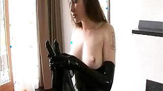 BDSM Latex Solo - duration 19:00