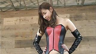 Japanese femdom Takakura face sitting and face slap - duration 1:09