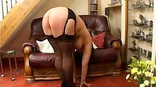 Hard spanking punishment for fat milf with tits - duration 8:00