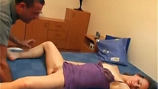 Blonde slut getting her pussy fucked by peter north when she sleep - duration 5:00