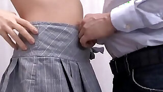 Pretty college girl seduced and fucked by her senior teacher - duration 5:00