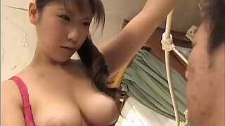 Momo Aizawa shakes big cans while fucked in hairy cooshie - duration 10:00