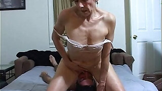 Horny MILF facesits a slave for ass licking and cleaning - duration 2:00