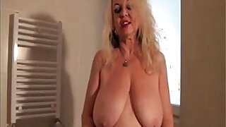 granny dana strip in bathroom - duration 32:00