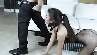 Sexy black Teen Slut Obey BF For Rough Pounding Of Her Sweet Pussy - duration 6:00