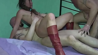The Teen and the Rasta! Nasty Double Penetration! - duration 4:00