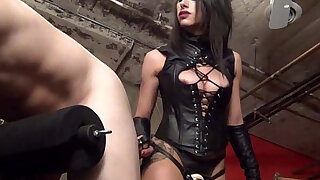 Femdom strapon pegging from Mistress Tangent - duration 10:00