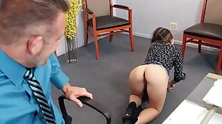 Bambi Brooks rides her dads matured cock on top - duration 6:00