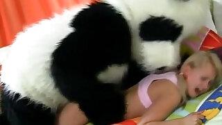 Plush panda and teen facial - duration 5:00