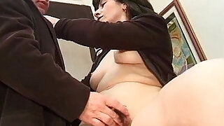 Dirty old milf got banged on the office - duration 18:00