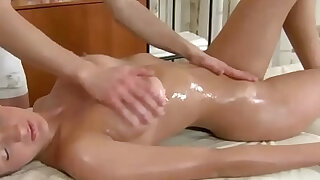 Busty babe fucked after sucking dick - duration 10:00