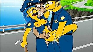 Simpsons and Futurama hentai orgies - duration 5:00