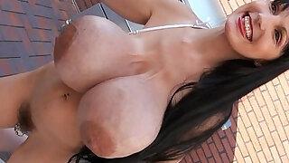 Facials Penelope Black Bikini milk tits facials - duration 1:01