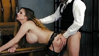 HARMONY VISION Sheriff Anal banging the prisoner - duration 12:00