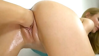 Hot fisting lesbian sex Alexis Crystal and Cayla Lyons - duration 6:00