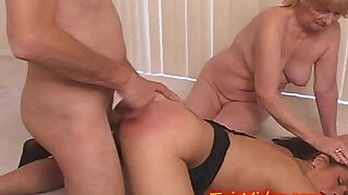 MOM eats Daughters CREAM PIE from DAD - duration 12:00