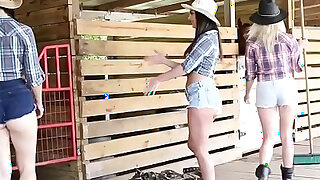 Bffs tease cock of a horny lad - duration 7:00