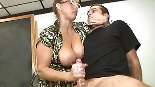 Forced Handjob In The Classroom - duration 4:00