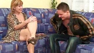 Granny claims a daily cum load will slow her ageing process - duration 14:00