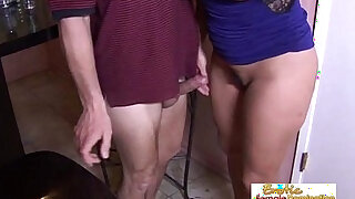 Tipsy milf slut drilled hard by the horny bartender at the bar - duration 18:00