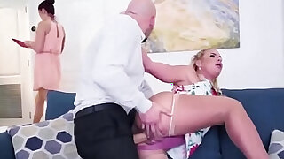 MILF Phoenix Marie sucks fucks black dick in new house - duration 2:00