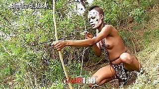 girl fucked from behind by a black dude in the wilds of cum hole - duration 3:15