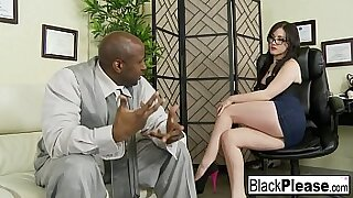 Interracial Cream Pie and honeymoon love - duration 7:54