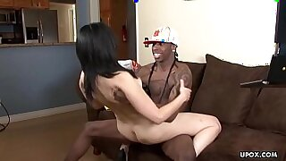 Small pussy Ebony cougar spoiling hair - duration 13:46
