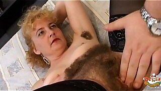 Oiled Wifes hairy pussy gets fucked - duration 18:28
