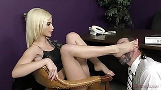 Beautiful femdom squirts like a hot fish - duration 10:37